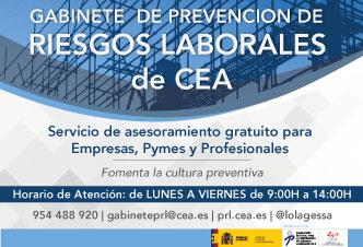 Gabinete de Prevención de Riesgos Laborales de CEA