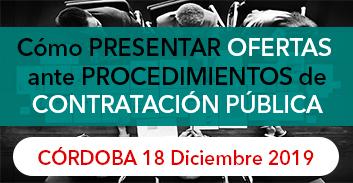 Córdoba: CÓMO PRESENTAR OFERTAS ANTE PROCEDIMIENTOS DE CONTRATACIÓN PÚBLICA