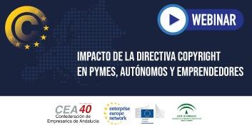 Impacto de la Directiva Copyright en pymes, autónomos y emprendedores