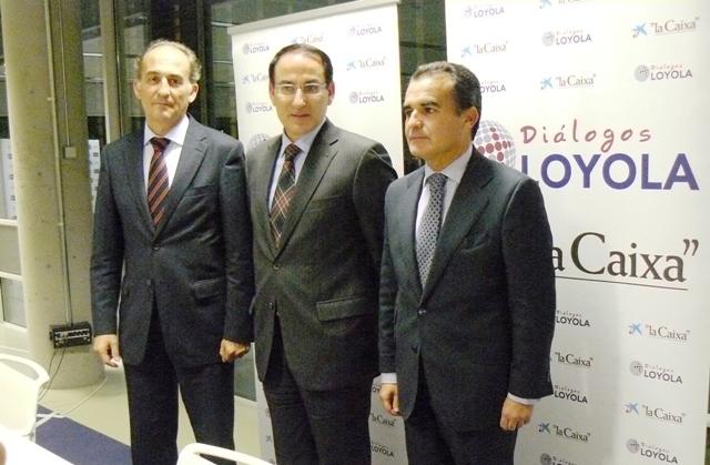 Conferencia de Javier González de Lara en el foro Diálogos Loyola