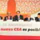 El presidente de la CEA recordó los valores de la organización: unidad