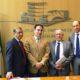 El presidente de la CEA estuvo presente en la firma de este convenio de colaboración