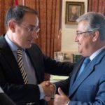 EL PRESIDENTE DE LA CEA Y EL ALCALDE SE SEVILLA HAN MANTENIDO UN ENCUENTRO INSTITUCIONAL EN EL AYUNTAMIENTO HISPALENSE