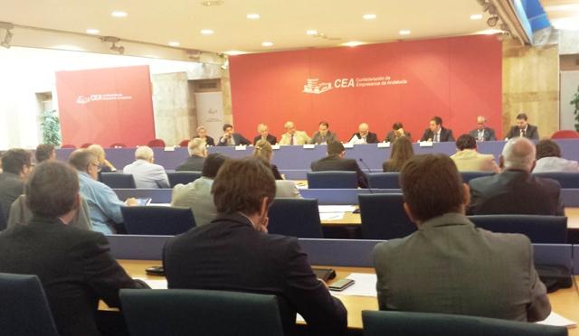 Javier González de Lara ha invitado a los miembros de la Junta Directiva de la Confederación a que participen en la elaboración del plan