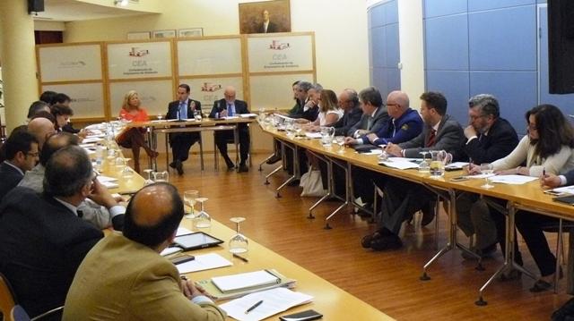 Javier González de Lara animó a las organizaciones a que participen de manera activa en el debate y en la elaboración del plan de acción