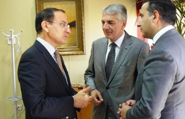 Tras esta reunión ambas instituciones han acordado realiza una jornada informativa sobre Turquía en la sede de Confederación