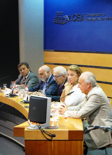 Acto de entrega de los I Premios Andalucía Inmobiliaria