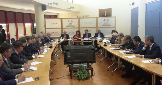 Para la Confederación es imprescindible poner en marcha en Andalucía políticas de reactivación económica y de impulso a la actividad productiva