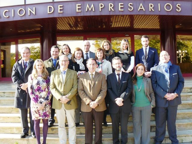 El acto se ha desarrollado en la sede de la organización empresarial andaluza