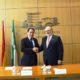El presidente de la Confederación y el director territorial de Andalucía de la Mutua Universal suscribieron este convenio