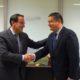 Javier González de Lara y Antonio Sanz departieron sobre la situación empresarial y económica andaluza