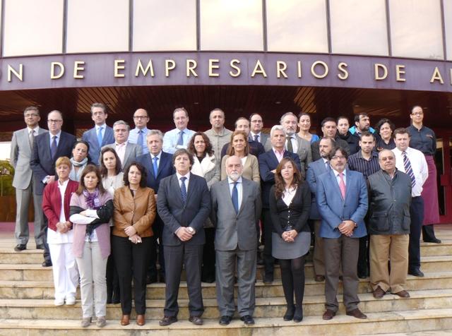 La organización empresarial andaluza manifiesta su repulsa por el terrorismo y su solidaridad con las víctimas