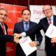 Popular ha sido el patrocinador del foro empresarial y de los actos convocados por la Confederación en Antequera