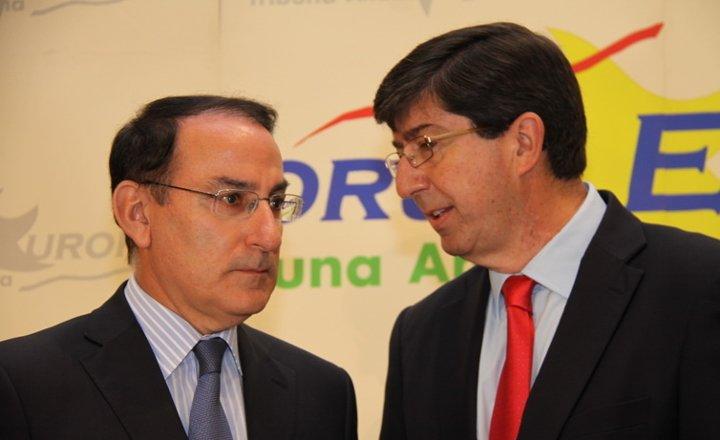 Javier González de Lara trasladó al Presidente de Ciudadanos en Andalucía las preocupaciones y los retos de los empresarios andaluces