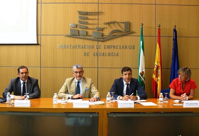 La jornada ha sido auspiciada por la Agencia Europea para la Seguridad y la Salud en el Trabajo