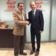 Javier González de Lara  y Gabriel Pérez Alcalá firmaron el convenio
