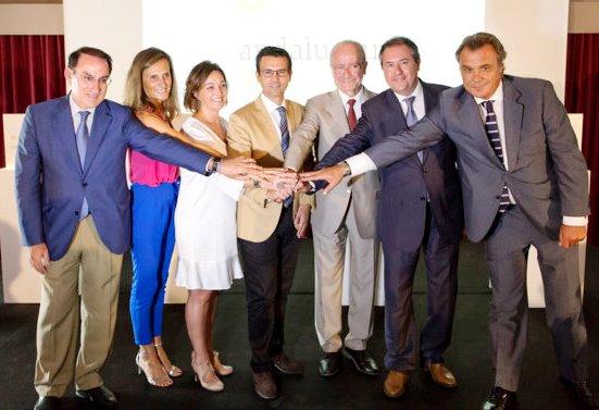 Acto de presentación de la marca del Eje Turístico de Andalucía