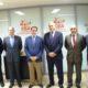 La delegación de la entidad financiera estaba integrada por su Consejero Delegado