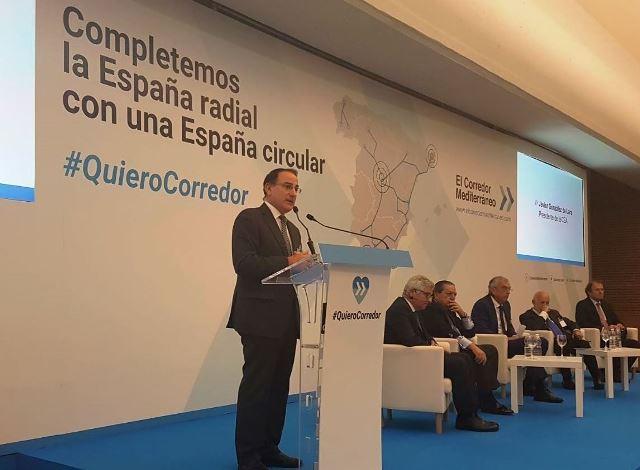El Presidente de CEA participa en el acto por el Corredor Mediterráneo organizado en Almería con la presencia de más de 800 empresarios