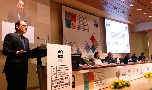 Javier González de Lara clausuró el V Foro Empresarial CEM Nuevos Retos