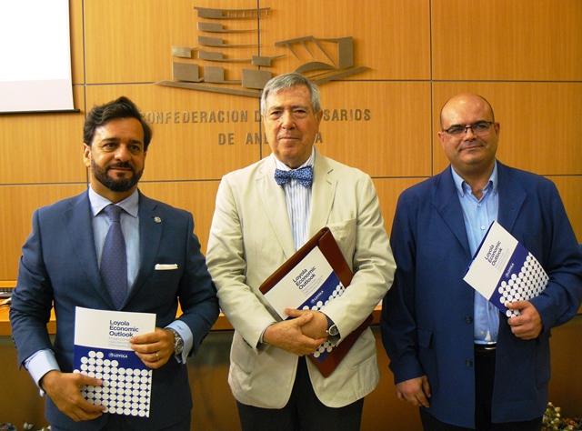 CEA y la Universidad Loyola de Andalucía presentaron el X informe Loyola Economic Outlook