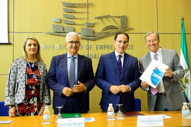 Presentación en CEA del Informe GEM Andalucía que analiza el emprendimiento en nuestra región