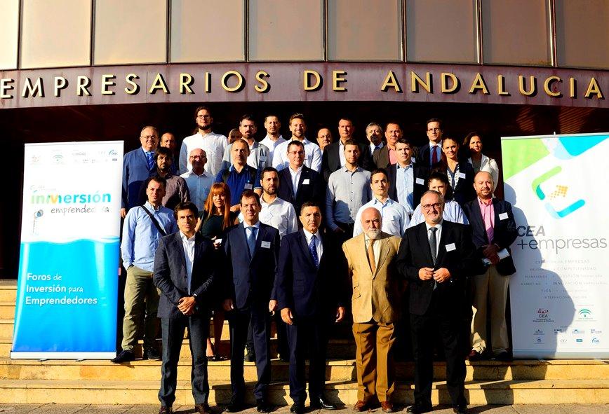 """Esta iniciativa forma parte del programa """"CEA +empresas"""" para el fomento de la cultura emprendedora en la Comunidad Andaluza"""