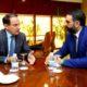Reunión entre Javier González de Lara y Francisco Javier Fernández