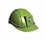 Distinguen al creador de un equipo de protección ante aislamientos en minas. Patente Ángel Helmet.