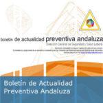 Publicado el Boletín de Actualidad Preventiva del mes de noviembre. Dirección General de Seguridad y Salud Laboral de la Junta de Andalucía.
