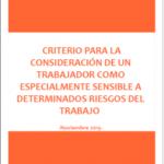 Criterios del INVASSAT sobre la condición de trabajador