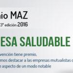 Convocatoria de los III Premios Empresa Saludable de Mutua MAZ.