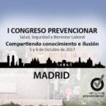 Madrid acoge el I Congreso Prevencionar centrado en salud, seguridad y bienestar laboral.