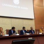Instituto Andaluz de Prevención y UAL presentan dos estudios sobre riesgos laborales de trabajadores en invernaderos.