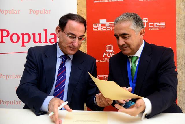 Convenio Banco Popular y CEA