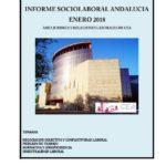 Informe Sociolaboral Andalucía Enero 2018