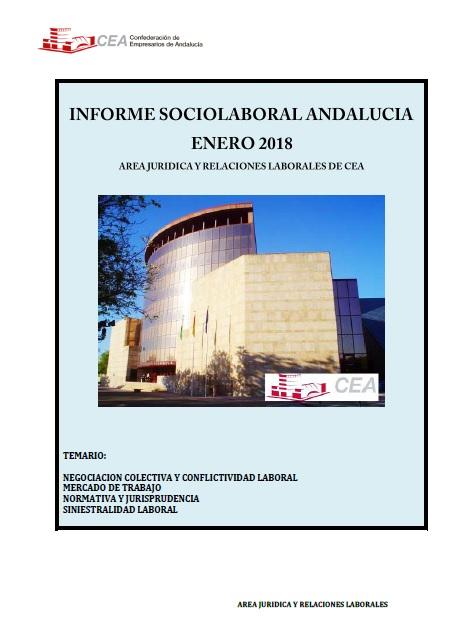 Informe Sociolaboral de Andalucía Enero 2018