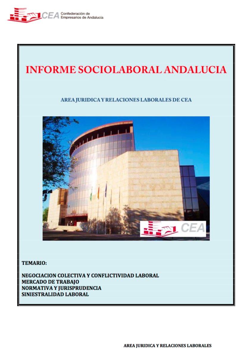 Informe Sociolaboral de Andalucía Septiembre 2018