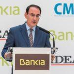 Javier González de Lara presentó al Presidente de Bankia en los Desayunos Informativos de IDEAL