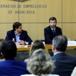 """Encuentros con…"" tuvo como protagonista a Nacho González, delegado del periódico Expansión Andalucía"