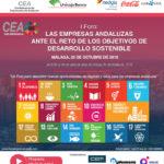 """CEA celebra mañana jueves en Málaga el I Foro """"Las empresas andaluzas ante el reto de los ODS"""""""