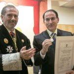 González de Lara recibe la Medalla de Honor del Colegio de Abogados de Málaga por su labor y compromiso con la sociedad