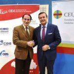 CEA y CEU Andalucía suscriben un convenio para impulsar la excelencia y la innovación en la educación universitaria