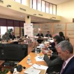 Reunión de los secretarios generales con el viceconsejero de Turismo, Regeneración, Justicia y Administración Local