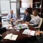 CEA mantiene un encuentro de trabajo con el Consejero de Economía