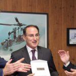 Homenaje de los empresarios de Cádiz al Presidente de CEA ante Su Majestad el Rey