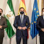 Los presidentes de CEA y CEPYME trasladan al presidente de la Junta la necesidad de continuar ayudando a las pymes andaluzas