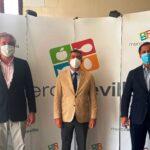 Mercasevilla vacuna a sus trabajadores gracias al 'Plan Sumamos. Salud + Economía' impulsado por la CES