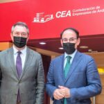 González de Lara traslada a Espadas la necesidad de que Andalucía ocupe el lugar que merece en la gestión de los fondos europeos
