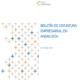 Boletín de Coyuntura Empresarial en Andalucía - Septiembre 2021